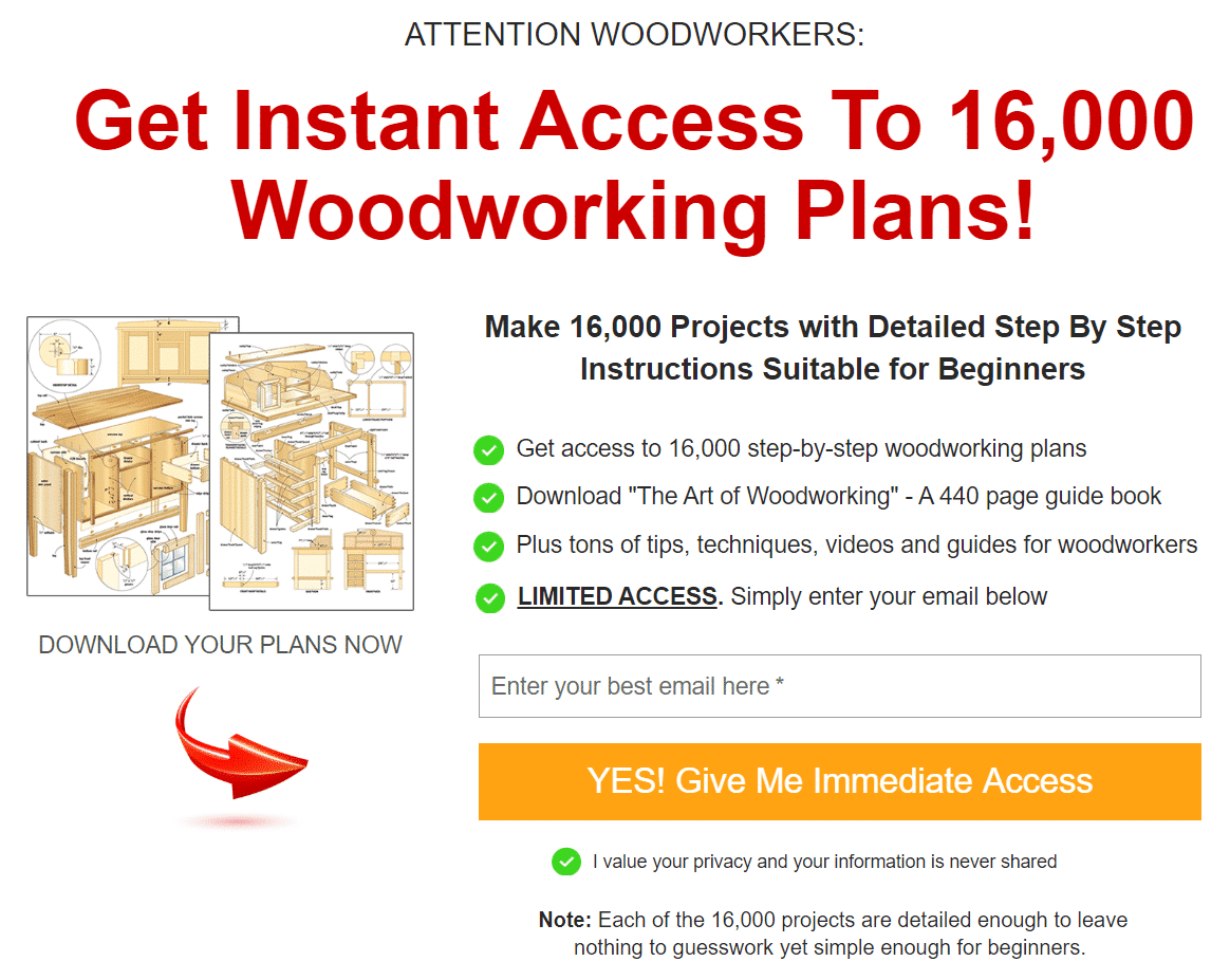 woodworking-landing-page-example