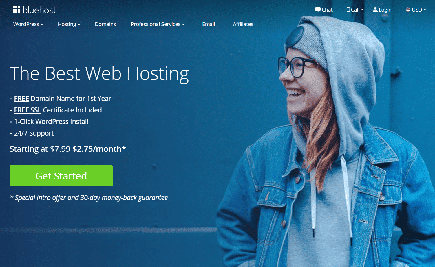 Bluehost-homepage