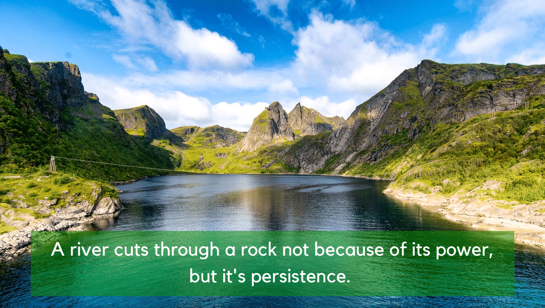 An Excellent Persistence Quote
