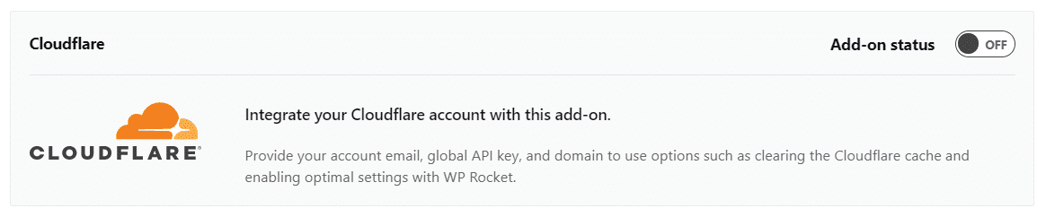 CloudFlare Add on