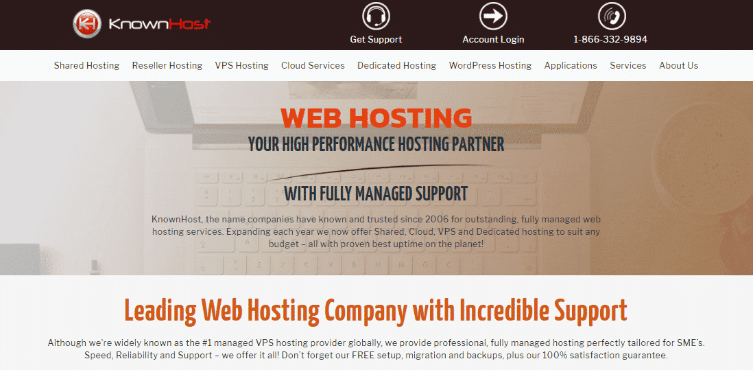 KnownHost Homepage