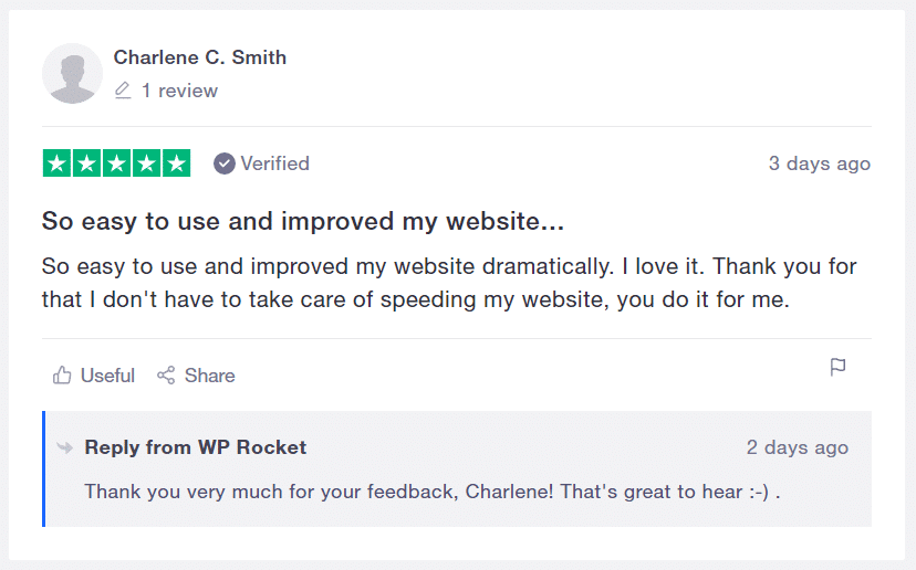 Review by Charlene