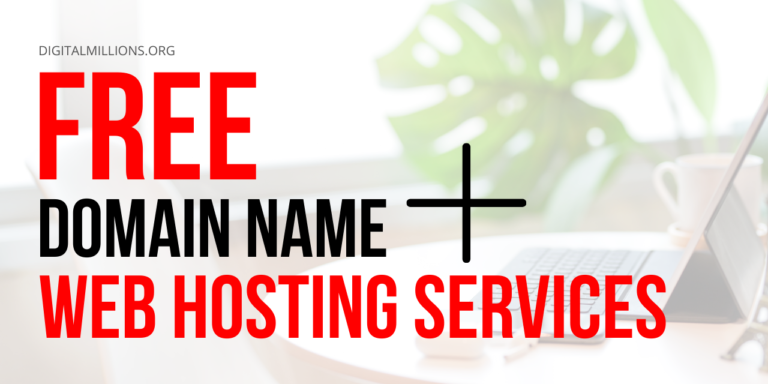 Get a Free Domain Name with Web Hosting