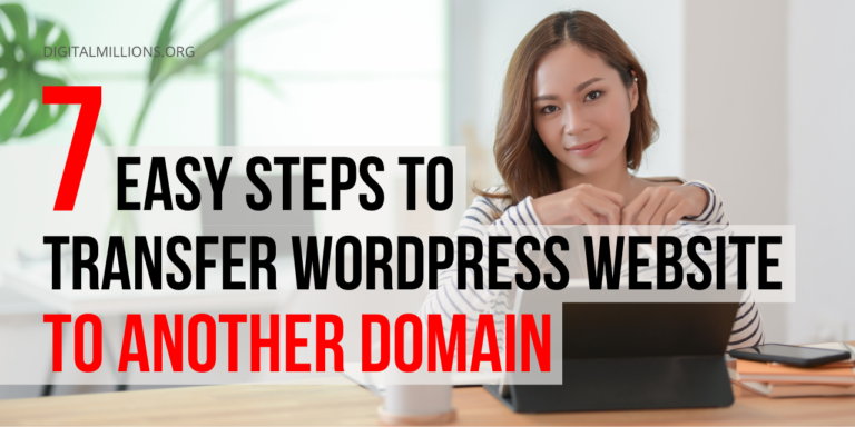 Transfer WordPress Website to Another Domain