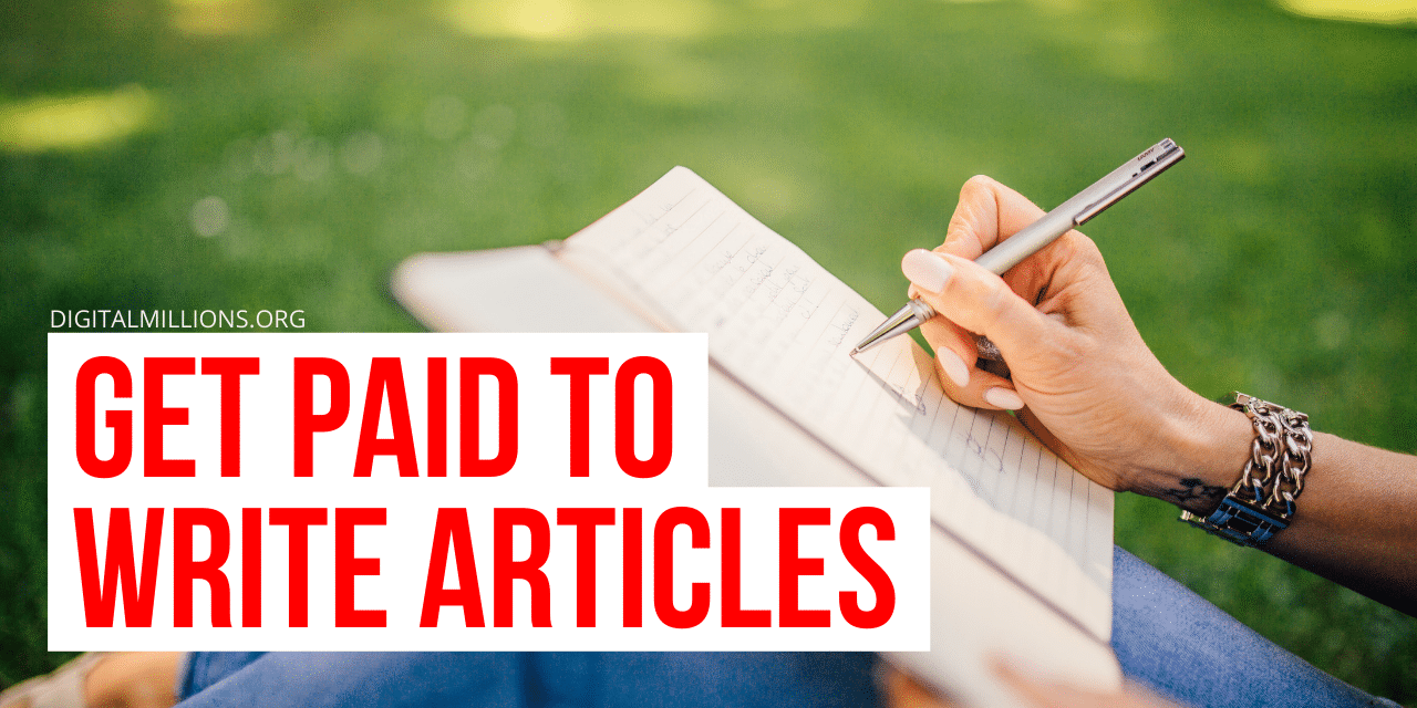 Websites That Will Pay You to Write Articles