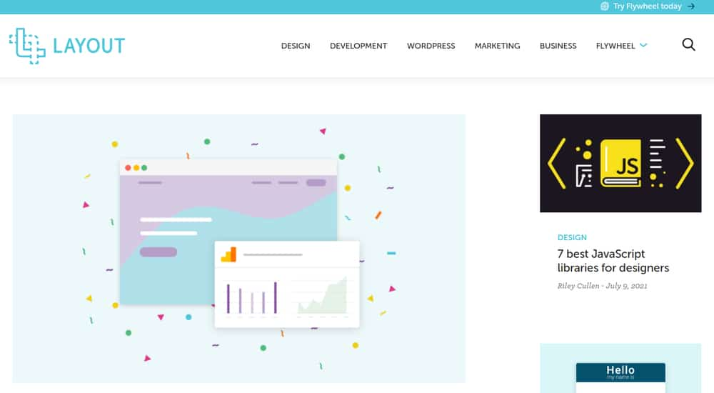 The Layout Homepage